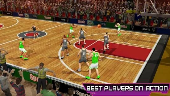 职业篮球比赛截图