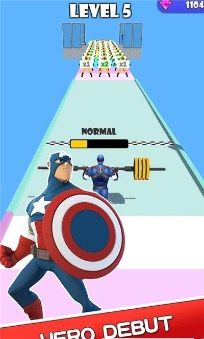 超级跑者英雄截图