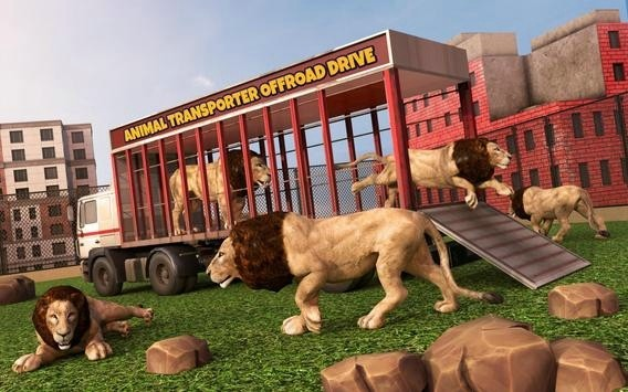 动物运输车越野驾驶截图