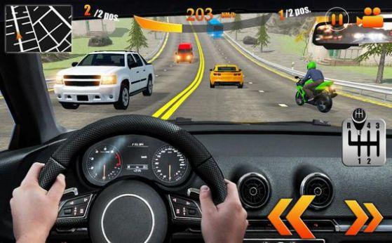 专业交通赛车汽车驾驶截图