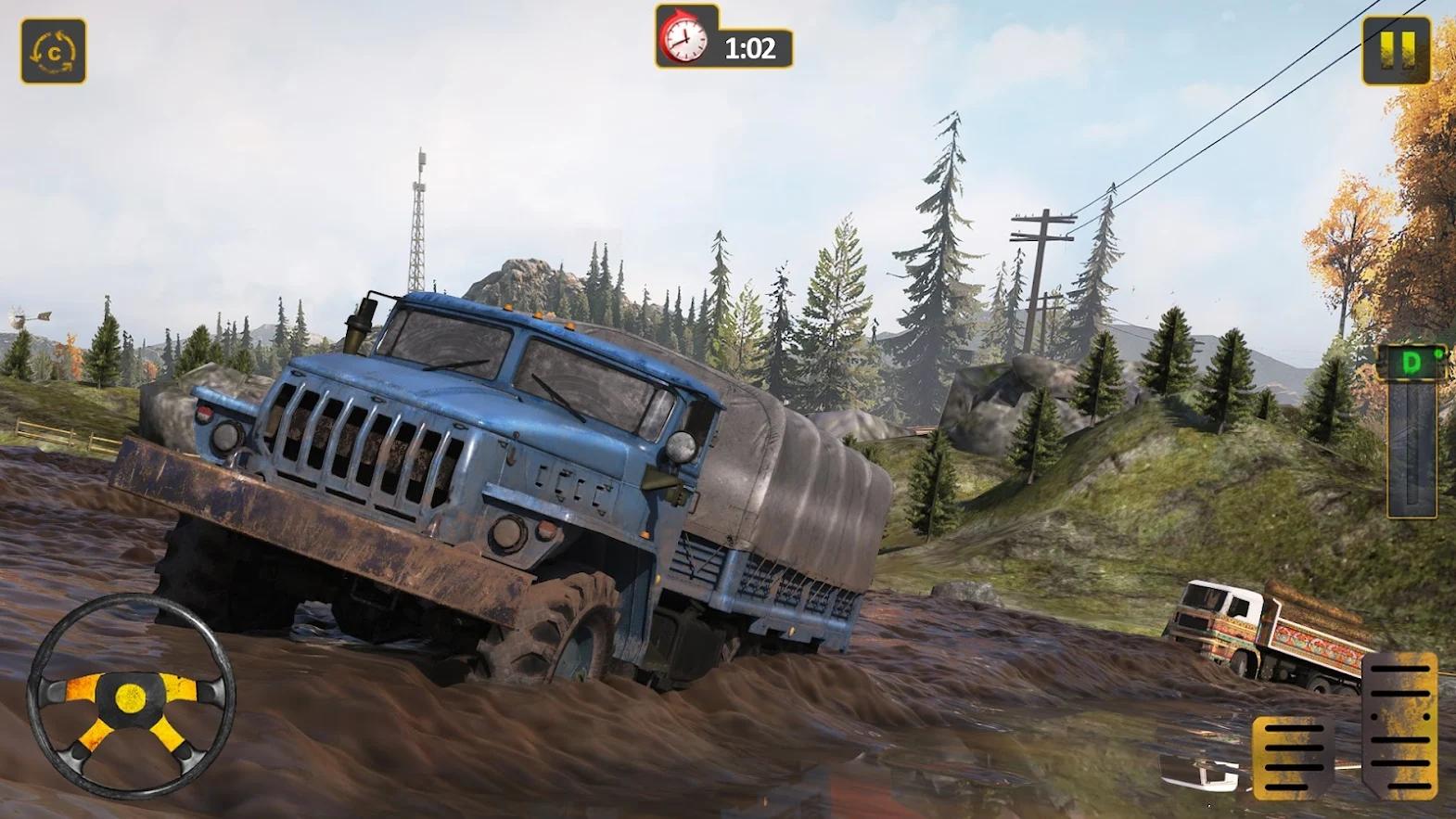 泥浆卡车模拟器2021截图