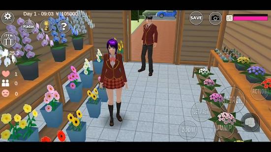 樱花校园模拟器1.038.77中文版下载图3