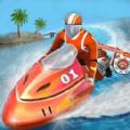 模拟水上特技摩托