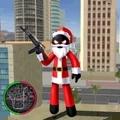 火柴人绳索英雄圣诞版破解版 v1.0
