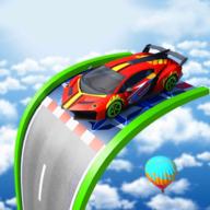 超级坡道特技车游戏