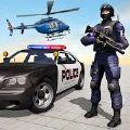 美国警察射击犯罪城市