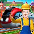 建立铁路轨道和车站