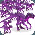 拥挤恐龙的世界