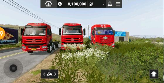 模拟农场20mod国产卡车新地图