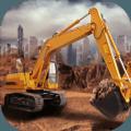 3D挖掘机建造模拟