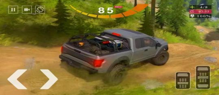 越野车游戏自由驾驶