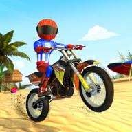疯狂沙滩特技摩托车